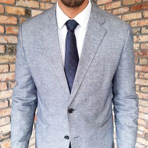 NEW Theory Linen Kris HL Cotton Blazer Sport Coat